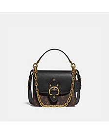 COACH Horse and Carriage Coated Canvas Beat Shoulder Bag 18