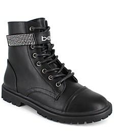 Women's Dayani Strap Logo Boots
