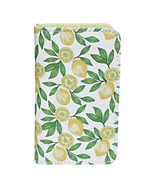 Women's Lovely Lemons RFID Pik-Me-Up Snap Card Case