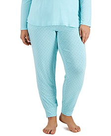 Plus Size Jogger Pajama Pants, Created for Macy's