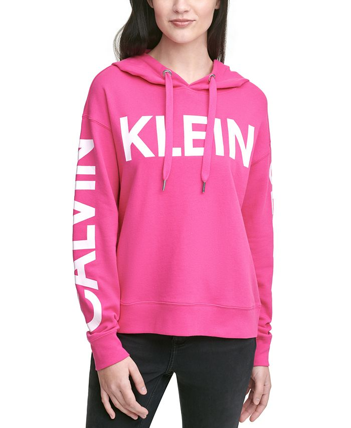 Calvin Klein Jeans - Logo-Print Hooded Sweatshirt