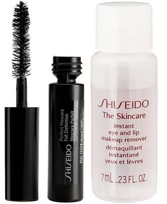 Receive a Complimentary 2-Pc. Gift with $50 Shiseido purchase