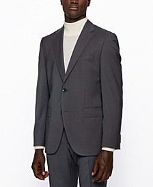 BOSS Men's Jeckson/Lenon2 Regular-Fit Virgin-Wool Suit