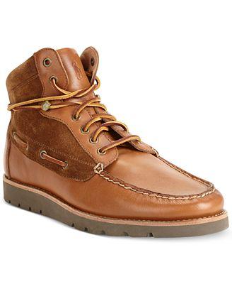 Polo Ralph Lauren Salsbury Boots - All Men\'s Shoes - Men - Macy\'s