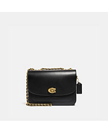 COACH Refined Calf Leather Madison Shoulder Bag