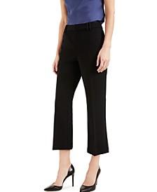 INC High-Waist Kick-Flare Ankle Pants, Created for Macy's