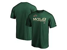 Minnesota Wild Men's Locker Room Prime T-Shirt