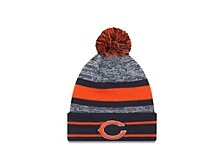 Chicago Bears Cuff Pom Knit Hat