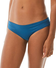 Riviera Shirred Cheeky Bikini Bottoms