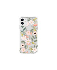 Clear Wildflowers iPhone 11 Phone Case