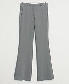 Women's Micro-Houndstooth Suit Pants