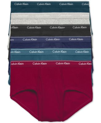 캘빈 클라인 Calvin Klein Mens Cotton Briefs, 6 Pack