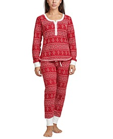 Women's Thermal Pajama Set