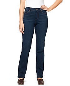 Gloria Vanderbilt Women's Amanda Midrise Long Length Jeans