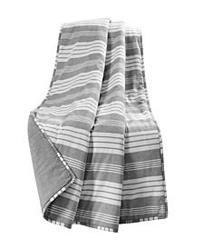 Farmhouse Yarn Dyed Stripe Throw Blanket