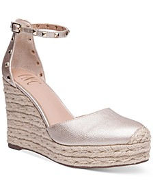 INC Masin Wedge Sandals, Created for Macy's
