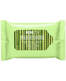 Nudeskin Vegan Bamboo-Derived Cleansing Cloths