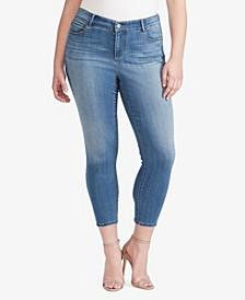 Women's Regular Skinny Crop Midrise Jeans