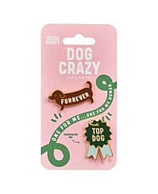 Enamel Pin & Dog Tag 2pc Set