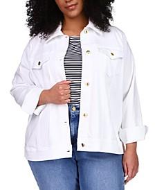 Plus Size Denim Jacket