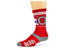 Ohio State Buckeyes Flag Stripe Socks