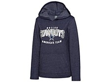 Dallas Cowboys Women's Alia Glitter Hoodie