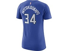 Milwaukee Bucks Women's City Edition Player T-Shirt - Giannis Antetokounmpo