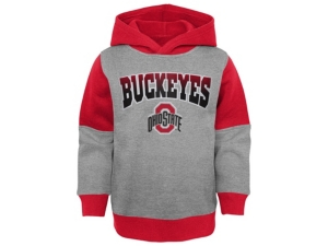 Outerstuff Sweatshirts OHIO STATE BUCKEYES TODDLER SIDELINE SWEATSHIRT SET