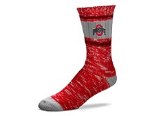Ohio State Buckeyes Alpine Stripe Socks