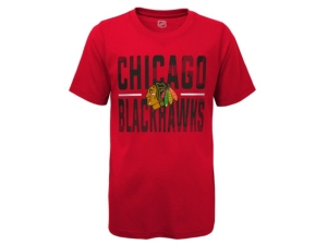 Outerstuff YOUTH CHICAGO BLACKHAWKS HUSTLE T-SHIRT