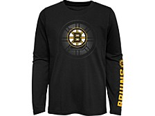 Kids Boston Bruins Stop The Clock Long-Sleeve T-Shirt