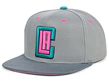 Los Angeles Clippers Grey Wolf Mags Snapback Cap