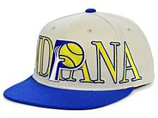Indiana Pacers Hardwood Classic Winners Circle Snapback Cap