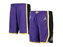Youth Los Angeles Lakers Statement Swingman Shorts
