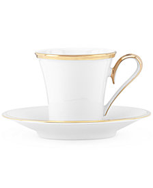Lenox Eternal Espresso Cup and Saucer Set