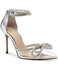 INC Women's Lidani Pointed-Toe Clear Vinyl Pumps, Created for Macy's