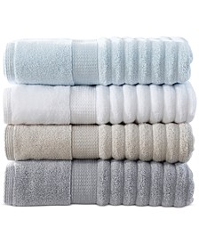 Linear Woven Bath Towel Collection