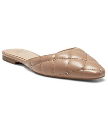 INC Zafira Quilted Mules, Created for Macy's