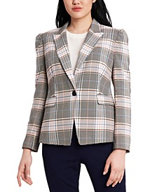 Fitz Plaid Jacket, Created for Macy's