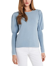 Cosette Puff-Sleeve Sweater, Created for Macy's