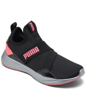 Puma WOMEN'S RADIATE MID PEARL TRAINING SNEAKERS FROM FINISH LINE
