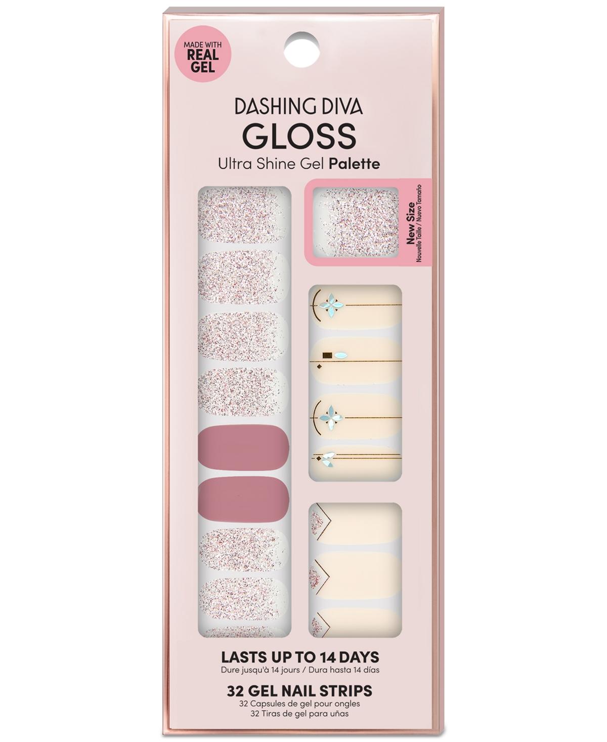Dashing Diva Gloss Ultra Shine Gel Palette - Glitter Glamour