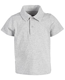 Baby Boys Jersey Cotton Polo, Created for Macy's