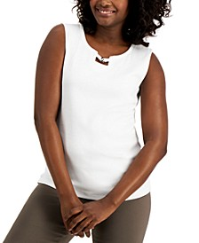 Cotton Hardware Tank Top, Created for Macy's