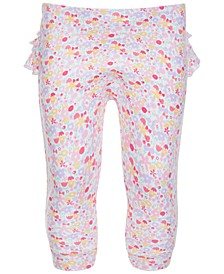 Baby Girls Ditsy Ruffle Pants, Created for Macy's