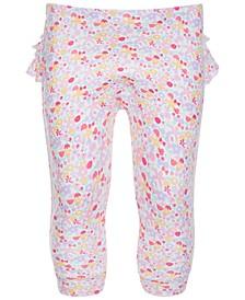 Baby Girls Ditsy Ruffle Pants, Created for Macy's
