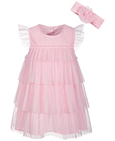 Baby Girls Statement Dress, Created for Macy's