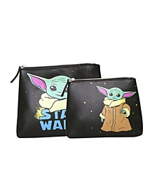 Star Wars The Child Travel Pouch Set of 2