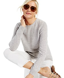 Crew-Neck Cashmere Sweater, Created for Macy's