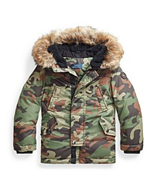 Toddler Boys Down Parka Coat